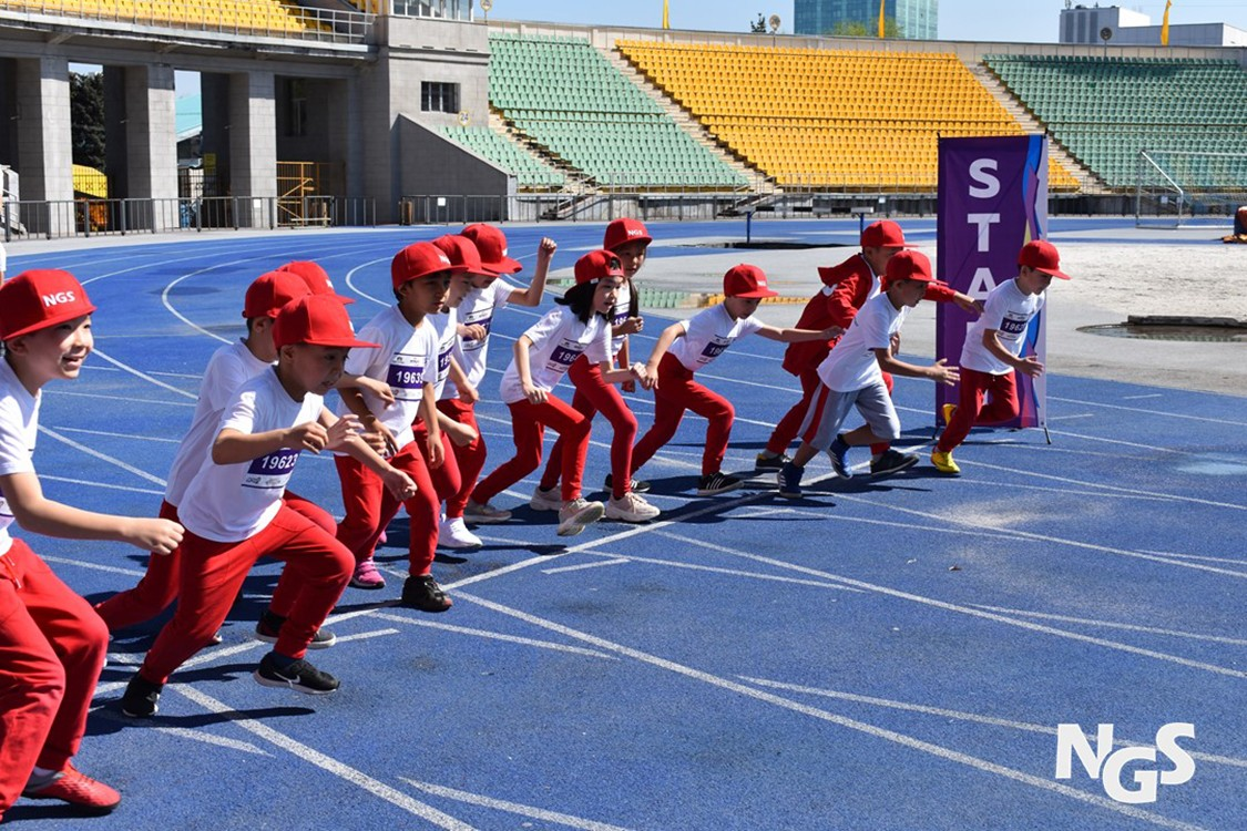 """Bright Mile NGS"" charity run will take place in Almaty."